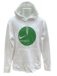 Nouveau-Nike-Vintage-Tiempo-Football-Coton-Fleece-Hoodies-moyen-Blanc