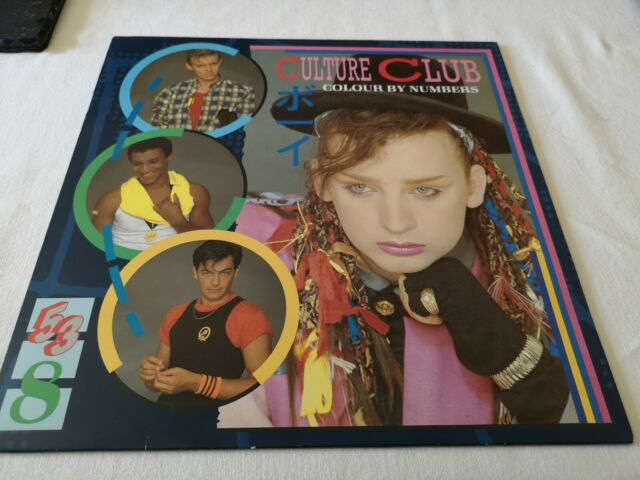 "CULTURE CLUB - COLOUR BY NUMBERS 12"" LP Album Vinyl Record 1983"