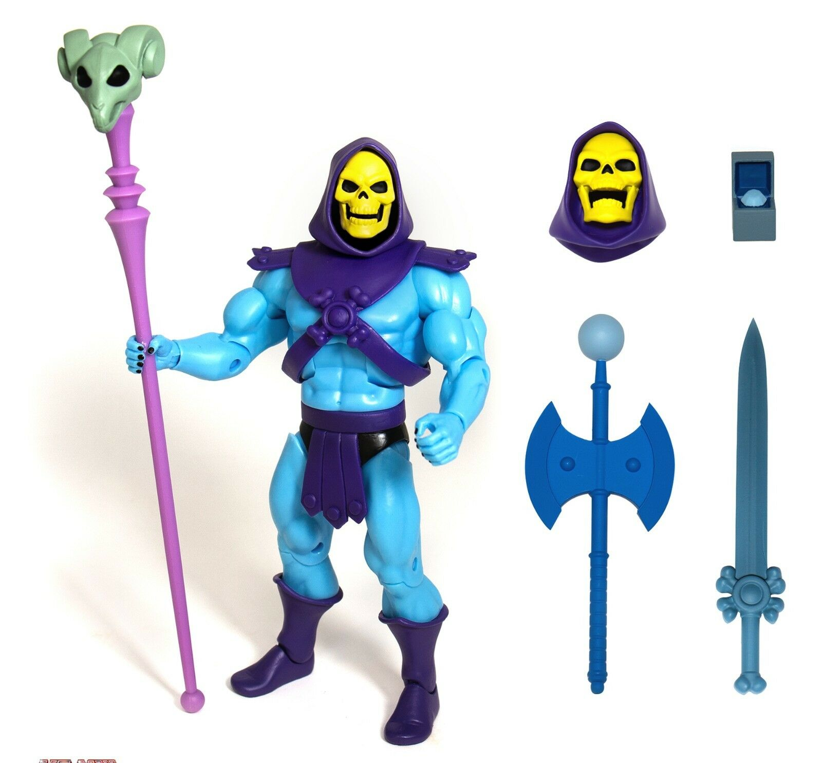 Skeletor fast super7 comic - action - figur neue box motu vintage - pre - order