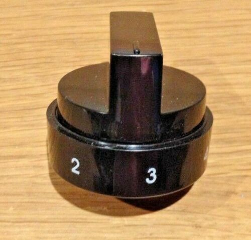 Véritable BELLING FS 50 edopc 1 To 6 four et plaque de cuisson Bouton de commande Noir
