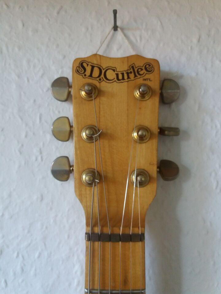 Elguitar, andet mærke S D Curlee