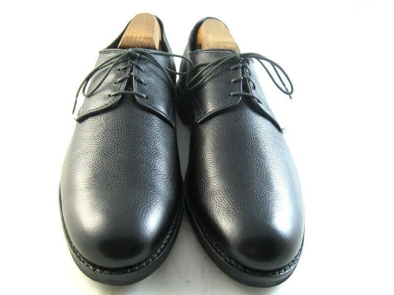Allen Edmonds  Nomad  Plain-Toe en cuir derby 10 B Noir (1004)