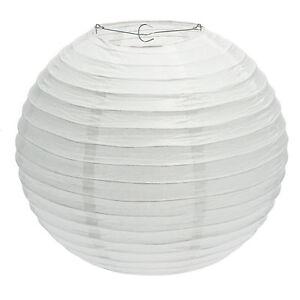 Détails Sur Lanterne Boule Blanche En Papier ø 60 Lampe Suspension Salon Mariage Fête Déco