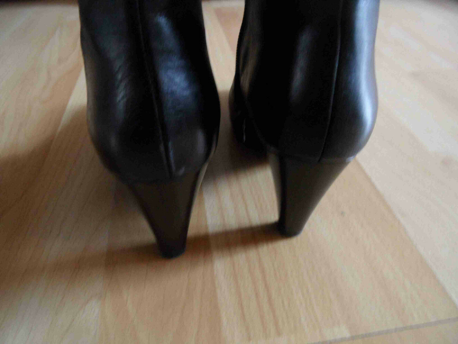 NERO GIARDINI GIARDINI GIARDINI chice hohe Stiefeletten schwarz Gr. 35 TOP OA 298b24