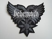 BEHEMOTH DEATH METAL EMBROIDERED BACK PATCH