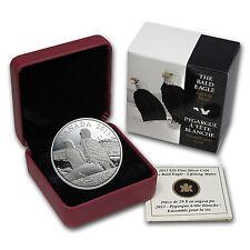2013 1 oz Silver Canadian $20 Coin - Lifelong Mates - Bald Eagle - SKU #78567