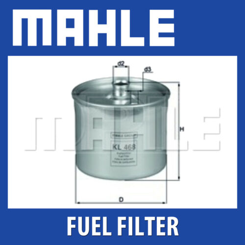 MAHLE Filtro Carburante kl468-si adatta a LAND ROVER FREELANDER-Genuine PART