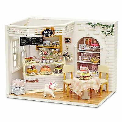 Doll House Furniture Diy Miniature Dust Cover 3D Wooden Miniaturas Dollhous L6V5