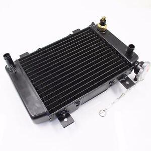 200cc 250cc ATV UTV Go Kart Engine Water Cooled Radiator Cooler with Fan Pipe