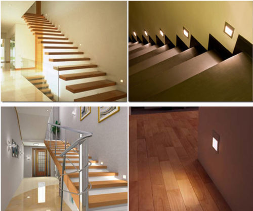 1//10//20x 3W LED Recessed Stair lighting Stage wall Spot Light decking deck light