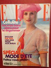 ELLE 5 Juin 2000 - Nathalie Rykiel Diane Keaton Special Mode Eté Hillary Clinton