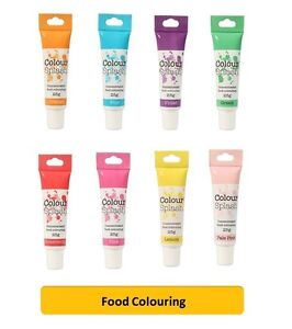 Culpitt COLOUR SPLASH GEL - Food Colouring Concentrated Paste ...