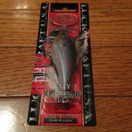 Lucky Craft Kelly J Slow Sinking 2 3//4 in 1//2 oz New made in Japan Ghost Minnow