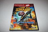Destroy All Humans Sony Playstation 2 Ps2 Video Game Sealed