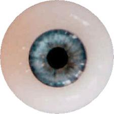 Reborn/BJD Dolls eyes EyeCo Soft Silicone Platinum Glass 19/20mm DREAMY BLUE