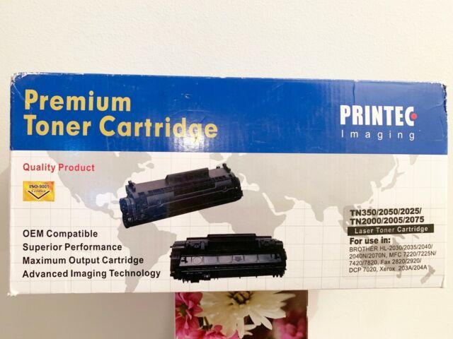 TN-350 Premium Toner Cartridge for Brother HL-2040/ 2070 MFC-7220/ 7225/ 7420