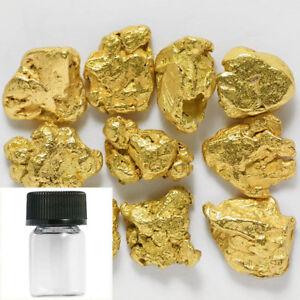 10-pcs-Alaska-Natural-Gold-amp-BOTTLE-Alaskan-Gold-1-2mm-TVs-Gold-Rush-B9