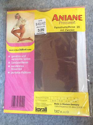 3x Aniane Strumpfhose Preiswert 20 Diamant Nylons 70er Viele Gr. Neu Ovp Vintage