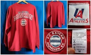FC-Bayern-Munchen-Sweat-BAYERN-MONACO-FELPA-MERCHANDISE-CALCIO-VINTAGE-GABBER