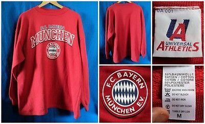 FC Bayern München Sweat BAYERN MONACO FELPA MERCHANDISE CALCIO VINTAGE GABBER   eBay