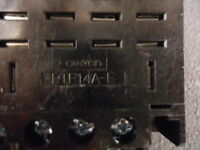 Ptf14a-e Omron Conn Relay Socket Skt 14 Pos Screw St Brand