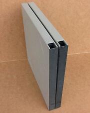 2 Revox Schuber grau, für grosse Spulen mit 26,5 cm Ø