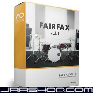 Details about XLN Audio Addictive Drums 2: Fairfax Vol  1 eDelivery JRR Shop