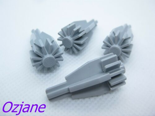 LEGO PART 4869 ENGINE WITH FAN//GEAR TECHNIC AXLE END NEW X 4 PCS