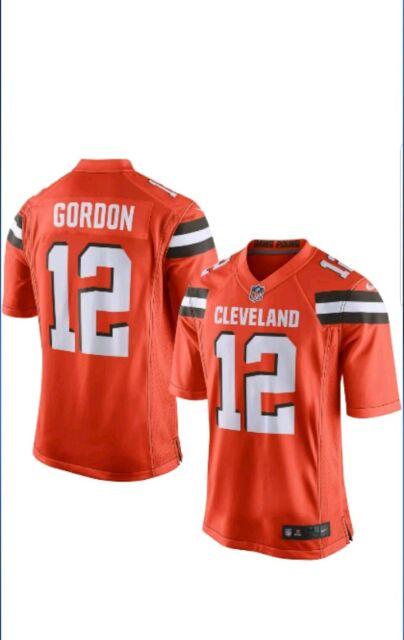 half off af5b1 73042 Brand New 2018 Nike NFL Cleveland Browns Josh Gordon #12 Game Edition  Jersey XL