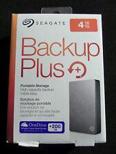 Seagate 4TB Backup Plus Portable Hard Drive (Silver) STDR4000900