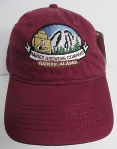 fe25b21c20f Haines Brewing Hat Cap Company Alaska USA Embroidery Unisex Beer Ale ...