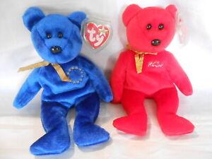 Ty Hamley & Unity beanie bears  see photo   FREE shipping