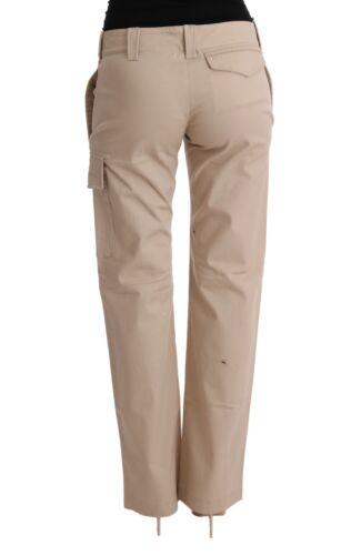 Regular Ermanno Nuovo Pantaloni Us6 Beige it40 Cotone Scervino Lana S s YwqdUwR