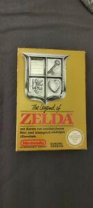 NES The Legend of Zelda inkl. OVP und Anleitung Sammler-Zustand (verpackt) TOP