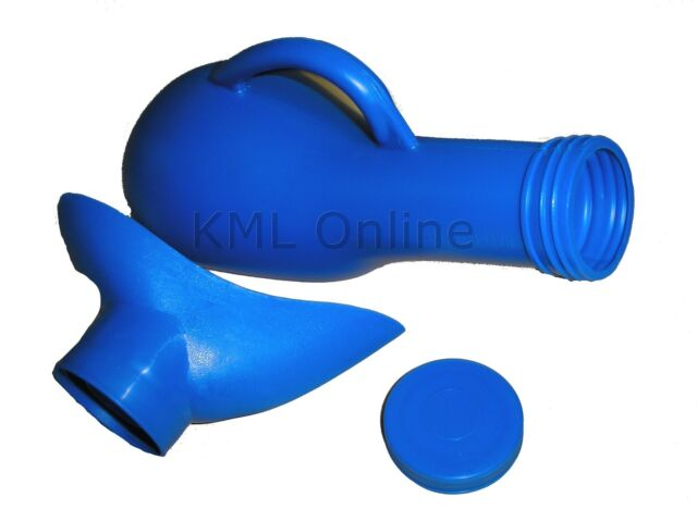 Portable Mobile Travel Urinal Toilet Camping Caravan Blue Loo Male Female