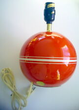 """VINTAGE HAND MADE TABLE LAMP CERAMIC, 10¼""""x 7½"""""""