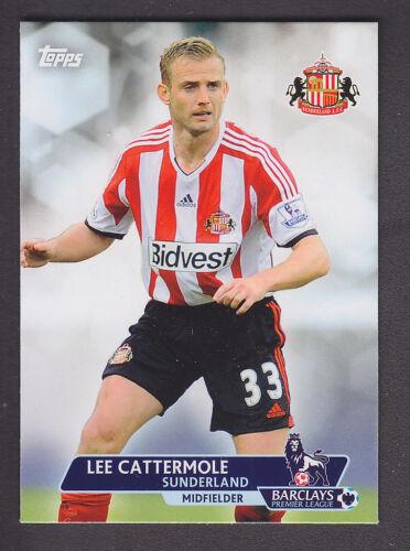Base # 88 Lee Cattermole Sunderland Topps Premier Gold 2013
