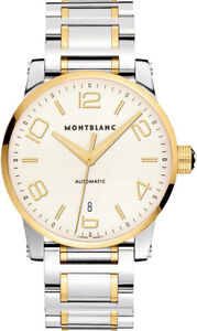 106502-BRAND-NEW-MONTBLANC-TIMEWALKER-GOLD-amp-STEEL-39MM-AUTOMATIC-MENS-WATCH