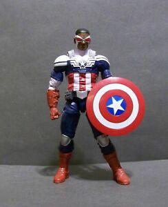 Exclusive Toys R Us Marvel Legends figure of captain america SAM WILSON falcon