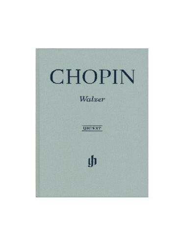 Frederic Chopin Waltzes Henle Urtext Learn to Play Piano SHEET MUSIC BOOK