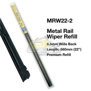 TRIDON-WIPER-METAL-RAIL-REFILL-PAIR-FOR-Volkswagen-KharmannGhia-01-59-12-70-22-034