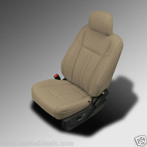Pleasant Details About 2015 2016 2017 2018 Ford F150 Super Crew Xlt Beige Katzkin Leather Seat Covers Gmtry Best Dining Table And Chair Ideas Images Gmtryco