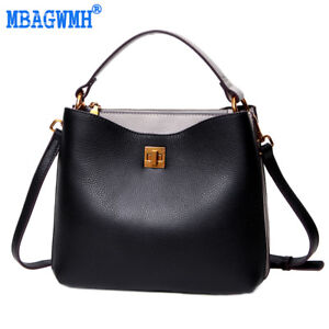 7427abac11 Image is loading Women-039-s-Genuine-Leather-Handbags-Ladies-Leather-