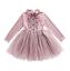 KID/'S robe à manches longues LOLITA Tutu Fille Doux Robe GRENADINE Causal yoooc