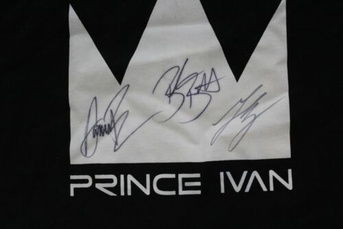 Prince Ivan 3 Autograph TEE T SHIRT 3XL XXXL