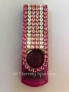 fa4cc3427577 Pink Crystal 8GB USB Flash Drive Memory Stick Made With SWAROVSKI ...