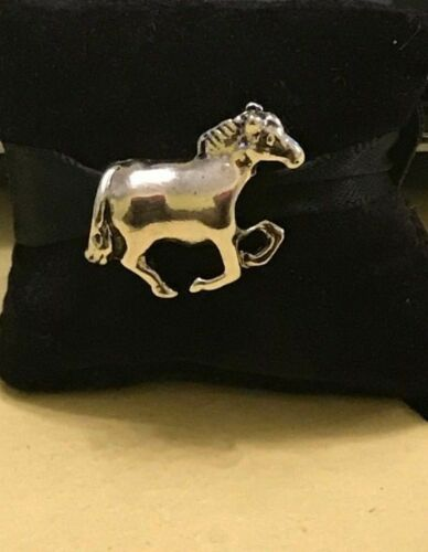 Silver Horse Animal 3D Bead Charm Spacer Fits European Bracelets//Necklace