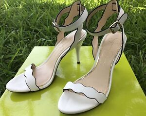 Jessica-Simpson-Morena-Leather-Dorsey-Scalloped-Heels-Sandals-Shoes-White-sz-7