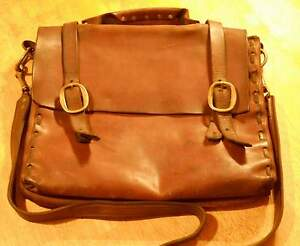 Large leather possibles bag