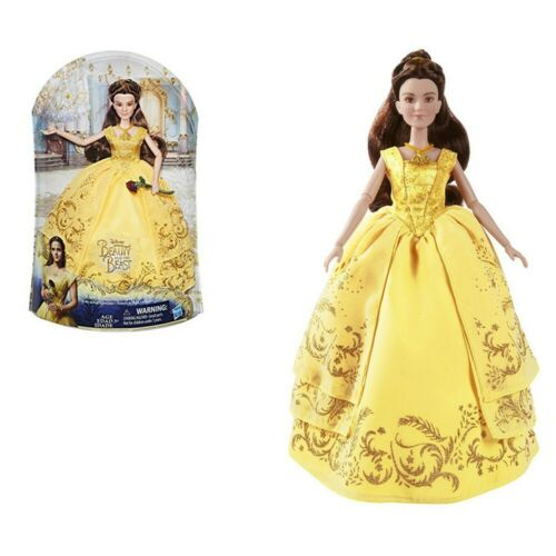 New Disney Princess Beauty and the Beast Enchanting Ball Gown Belle